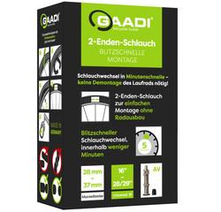 Gaadi Gaadi Open Ended Bicycle Tube, Comfort, 16 to 29-inch