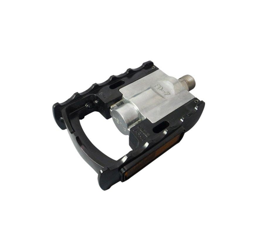 MKS FD-7 Folding Pedal Black