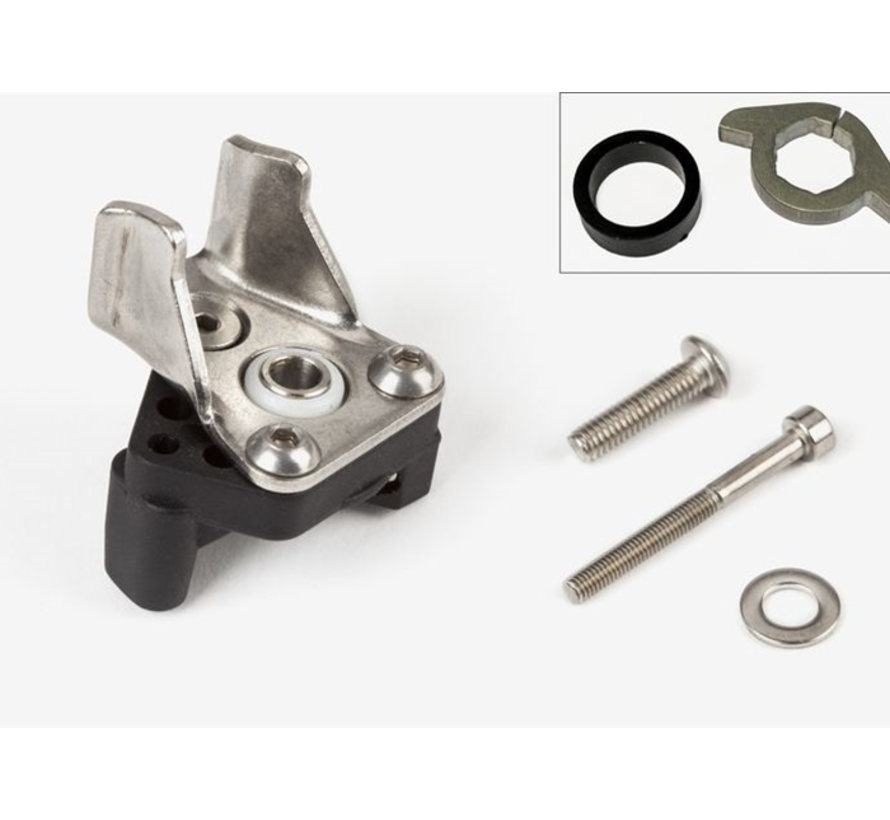 Brompton Derailleur Chain Pusher and Wing Plate Set - QCHPUA
