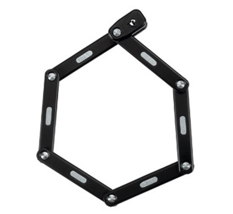 ABUS Bordo Keyed 6000 Folding Lock Black 75cm