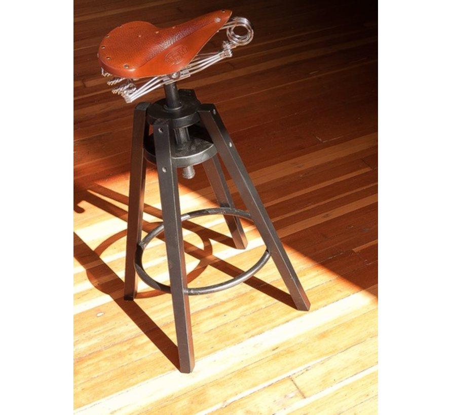 Brooks Saddle Stool