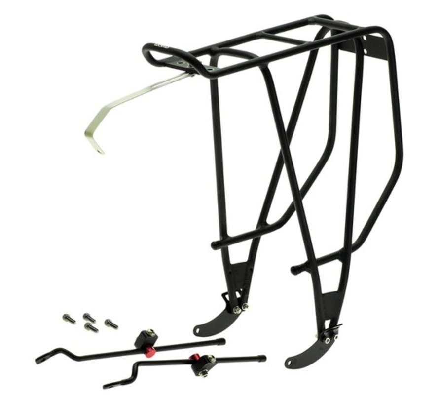 Axiom Streamliner Disc DLX Rear Rack, Black
