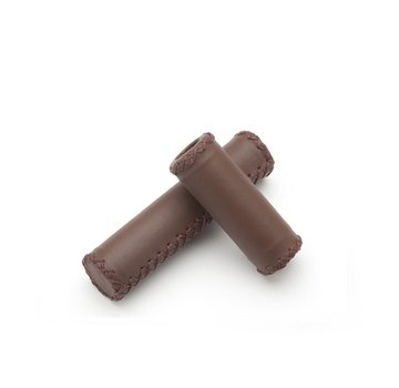Linus Linus Leather Grips, 3-Speed, Brown