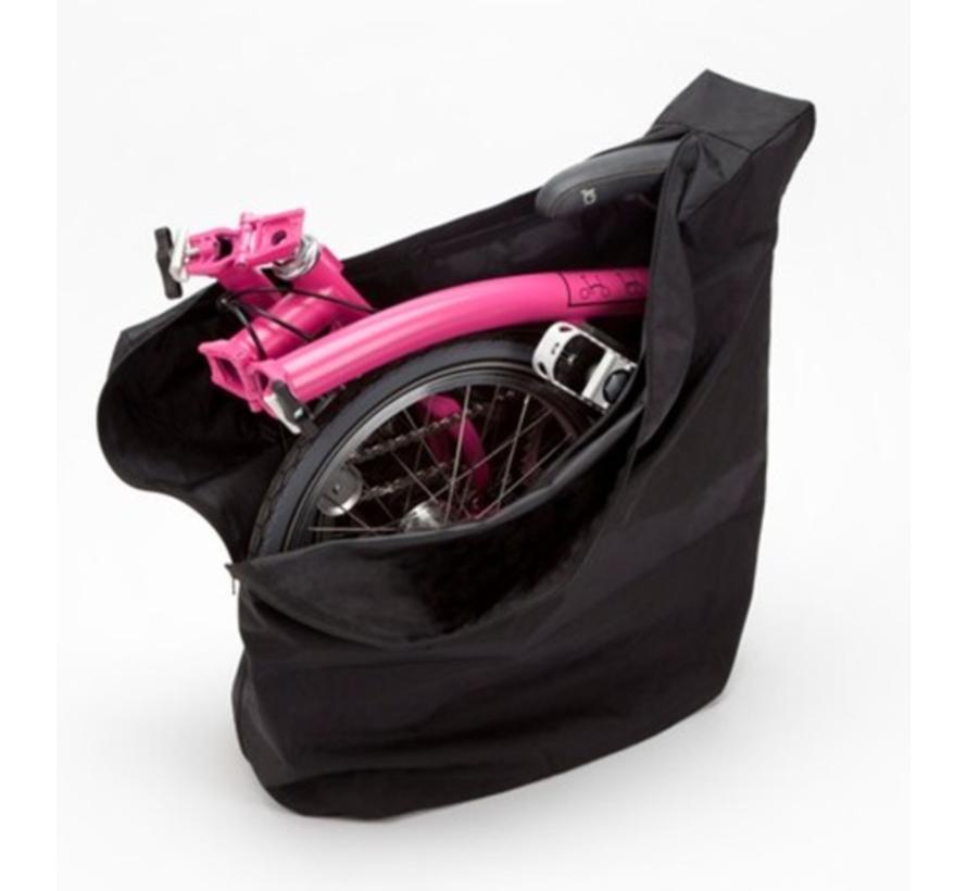 Brompton Bike cover and saddle bag Black - QCOV