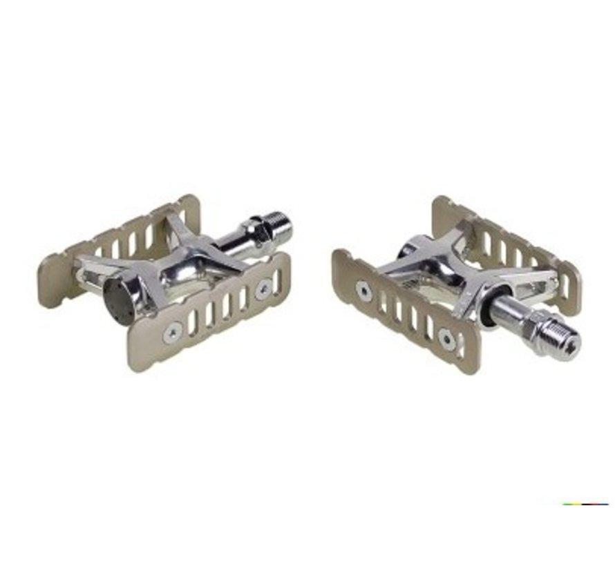 MKS Promenade pedal, silver