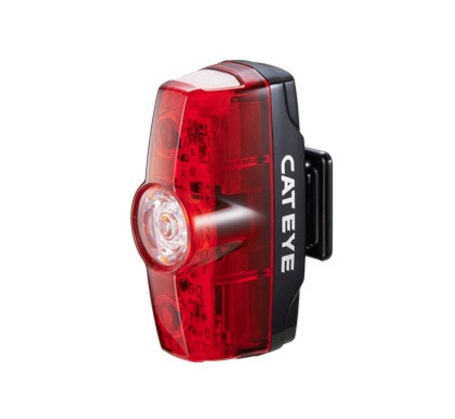 Cateye Rapid Mini taillight, USB rechargeable