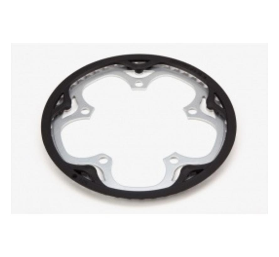 Brompton Chainring and Guard for Spider Type Crankset 50T - QCHRINGA-SPI-50