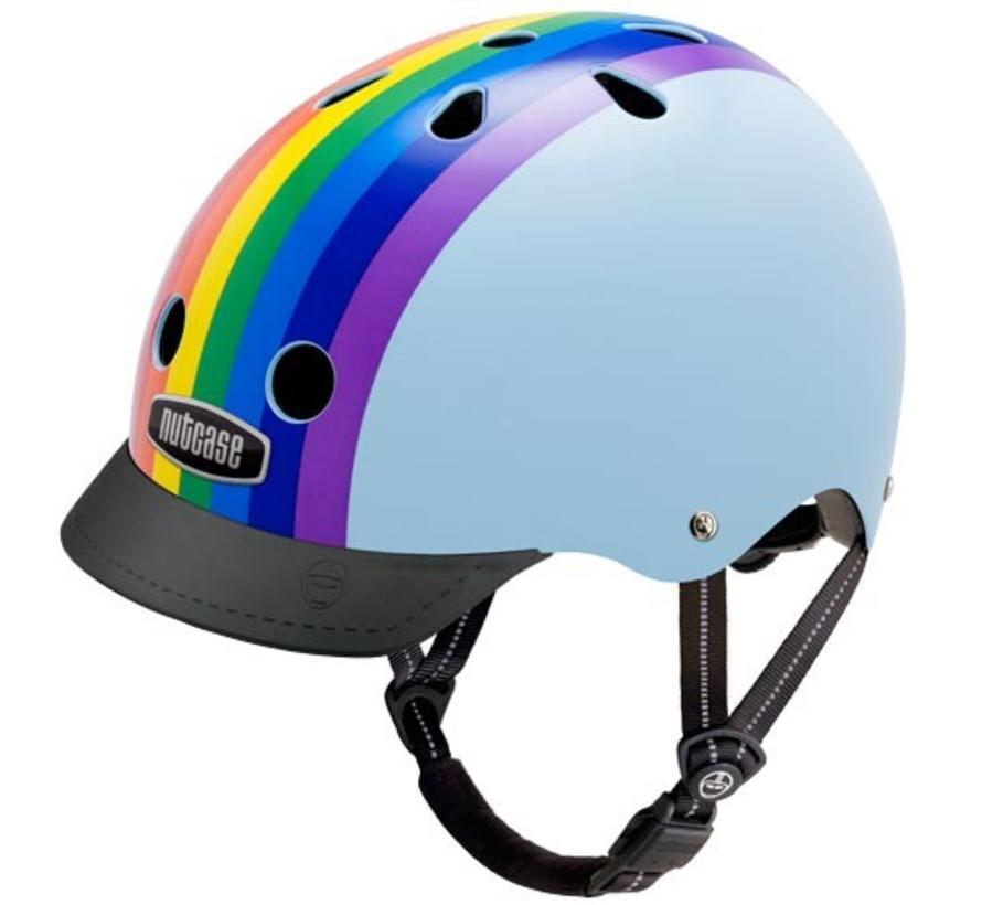 Nutcase Street Rainbow Sky Helmet