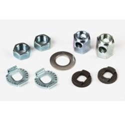 Brompton Brompton Rear Wheel Axle Fittings for 3 or 6 Speed for Sturmey Hubs - QRW3NB-SA