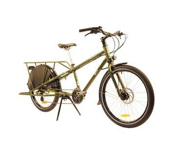 Yuba Yuba Mundo LUX V5 Cargo Bike, Olive