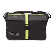 Brompton Brompton Roll Top Bag Includes Frame Nylon Gray Black Lime Green - QRTB-GY