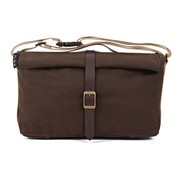 Brompton Brompton Roll Top Bag includes frame Waxed Canvas Khaki - QRTB-KH