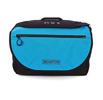 Brompton Brompton S Bag, Lagoon Blue Flap, C/W Cover & Frame