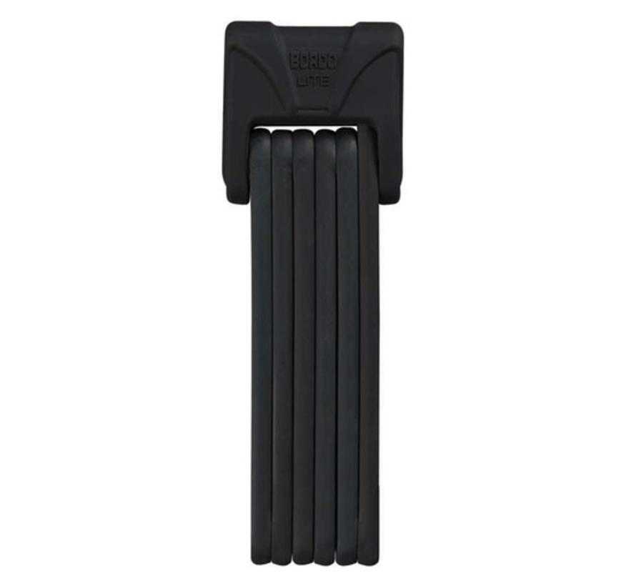 ABUS Bordo LITE 6050/85 cm Folding Lock With Keys, Black