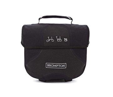 Brompton Brompton Mini O Bag Black With Reflective Materials - QMOB-BK-REF