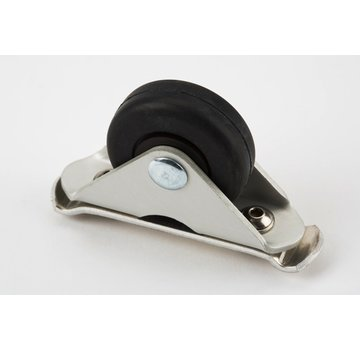 Brompton Brompton Fender Roller and Fittings Only for Version L Silver Black - QMGROLA