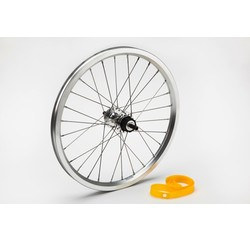 Brompton Brompton Rear Wheel 2-Speed Includes Fittings Silver - QRW2SS