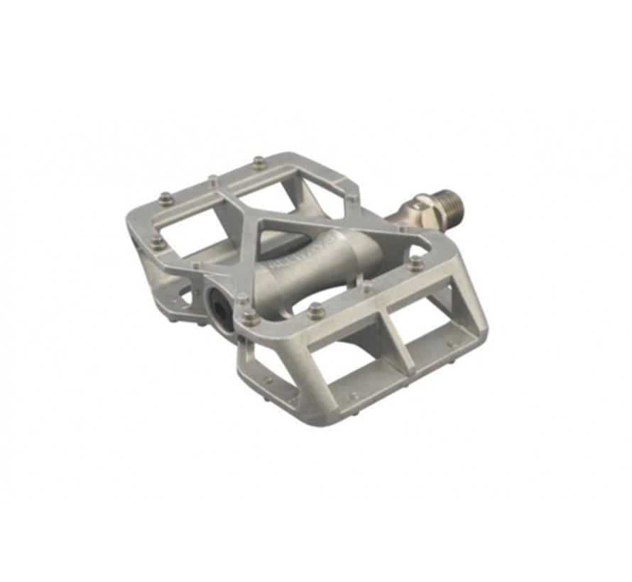 MKS Allways pedals, silver