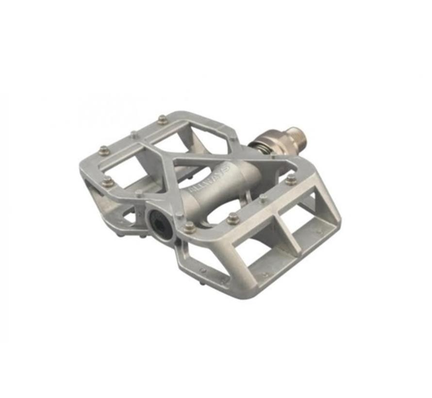 MKS Allways EZY Pedal, Superior, Silver