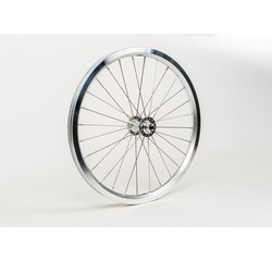 Brompton Brompton Front Wheel Radial Lacing Includes Fittings for Superlight Bikes Silver - QFWSS-SL
