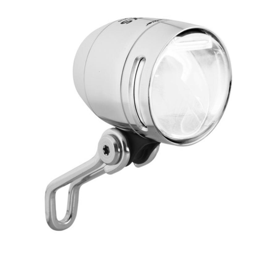 B&M Lumotec IQ-XS Headlight, Silver