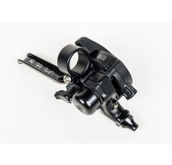 Brompton Brompton 3-Speed Underbar Shifter and Brake Lever, All Black - QGSHIFTR3A-BK