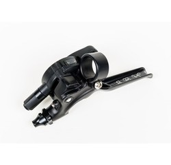 Brompton Brompton 2-Speed Underbar Shifter and Brake Lever, All Black - QGSHIFTL2A-BK