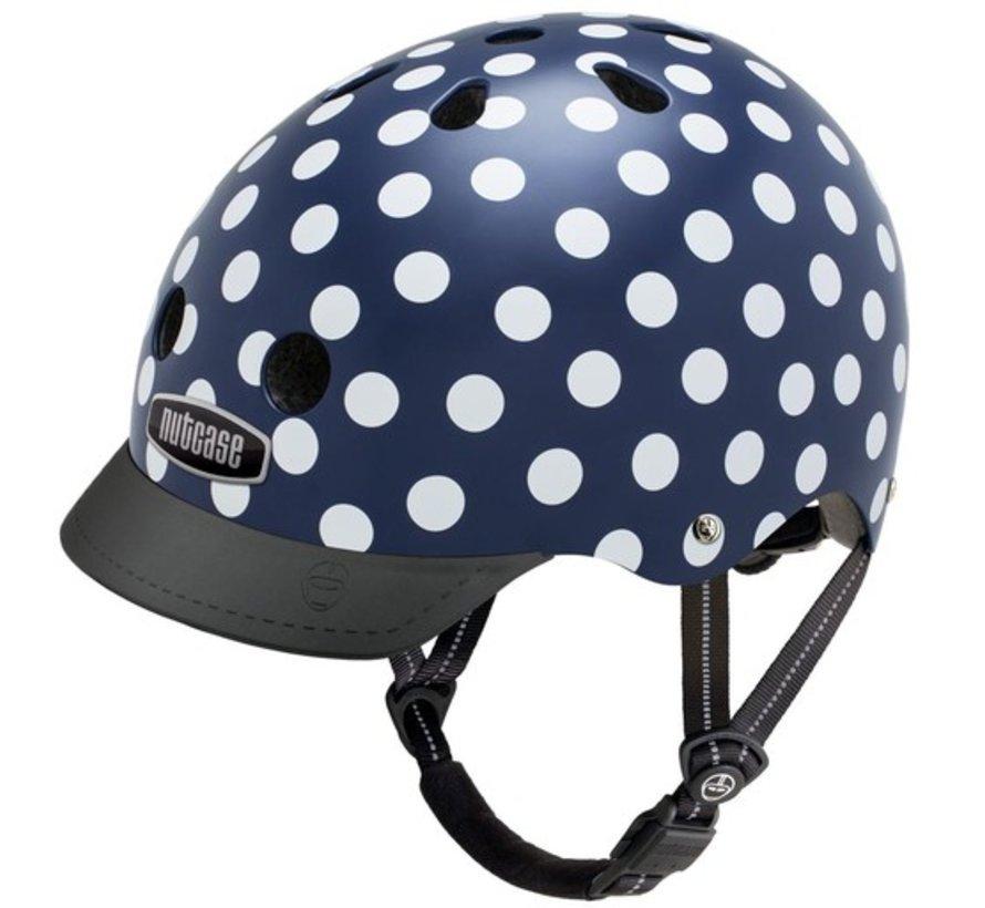 Nutcase Street Navy Dots Helmet
