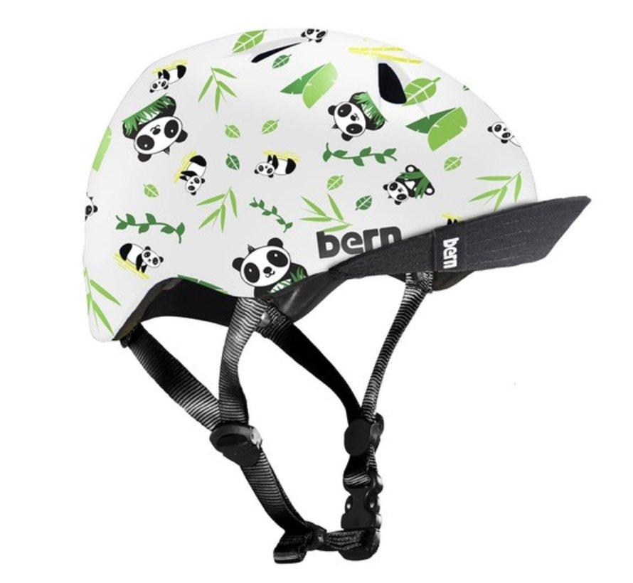 Bern Tigre Helmet, XXS, Satin White Panda