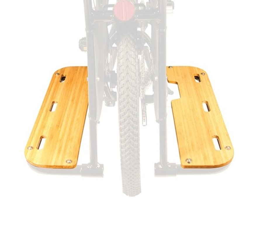 Yuba Boda Boda Bamboo Running Boards, V3