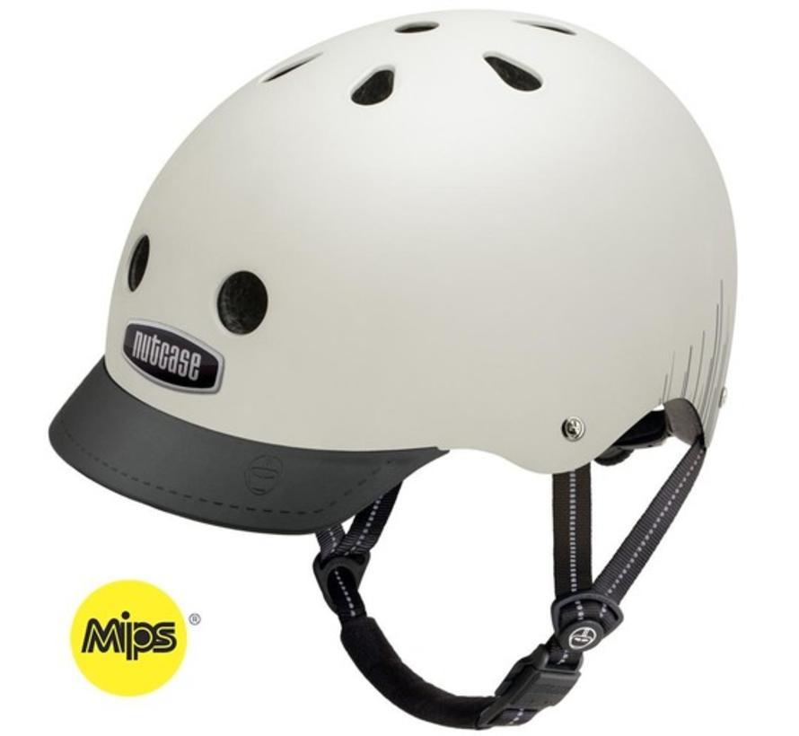 Nutcase Street MIPS Silver Wavelength Helmet
