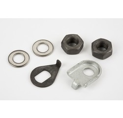 Brompton Brompton Front Wheel Axle Fittings for Standard Bikes - QFWNB