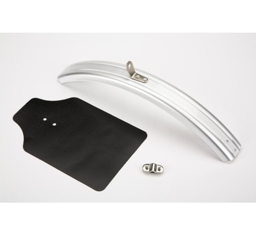 Brompton Fender Blade and Flap Front Silver - QMGBL-F-SV