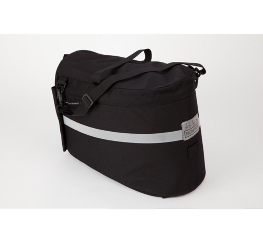 Brompton Rear Rack Bag Black - QRBAG
