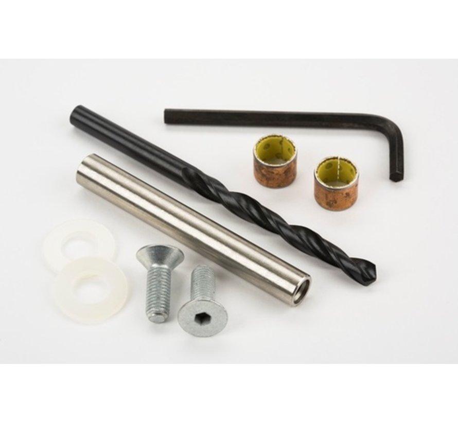 Brompton Rear Hinge Bush & Spindle kit - QRHBKIT