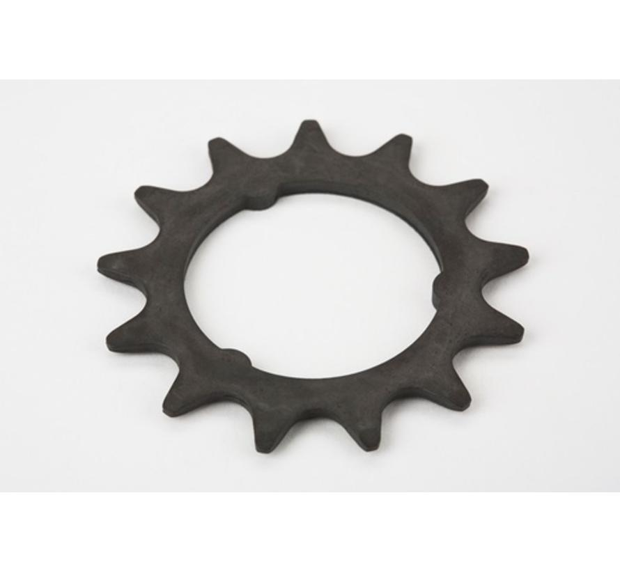 Brompton Sprocket 13T 3 32nd of an Inch 3 Spline for 3 Speed and 6 Speed SRAM - QRSPR13DR