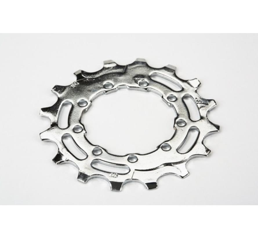 Brompton Sprocket 16T 3 32nd of an Inch 9 Spline for 2 or 6 Speed BWR - QRSPR16DR-SHMNO