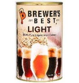 BREWERS BEST BREWERS BEST LIGHT LIQUID MALT EXTRACT 3.3 LB