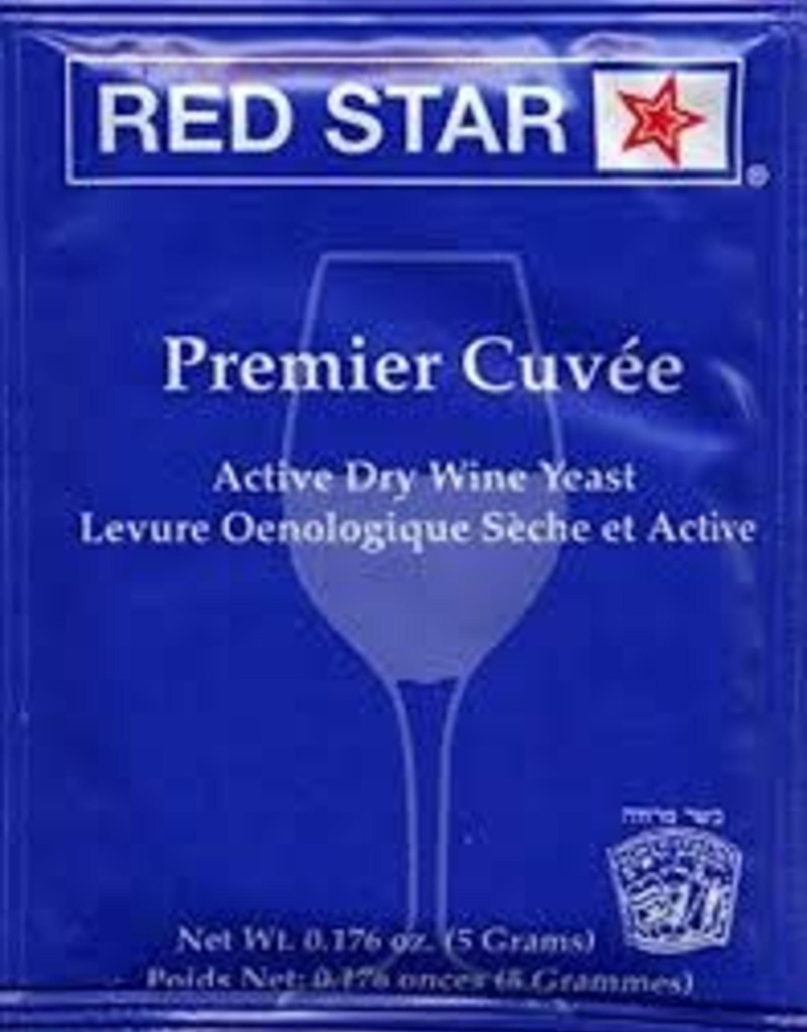 PREMIER CUVE'E RED STAR 5 GRAM WINE YEAST