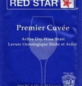 PREMIER CUVE'E RED STAR 5 GRAM WINE YEAST