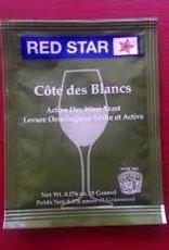 COTE DES BLANC RED STAR 5 GRAM WINE YEAST