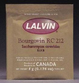 LALVIN RC-212 LALVIN ACTIVE FREEZE- DRIED WINE YEAST