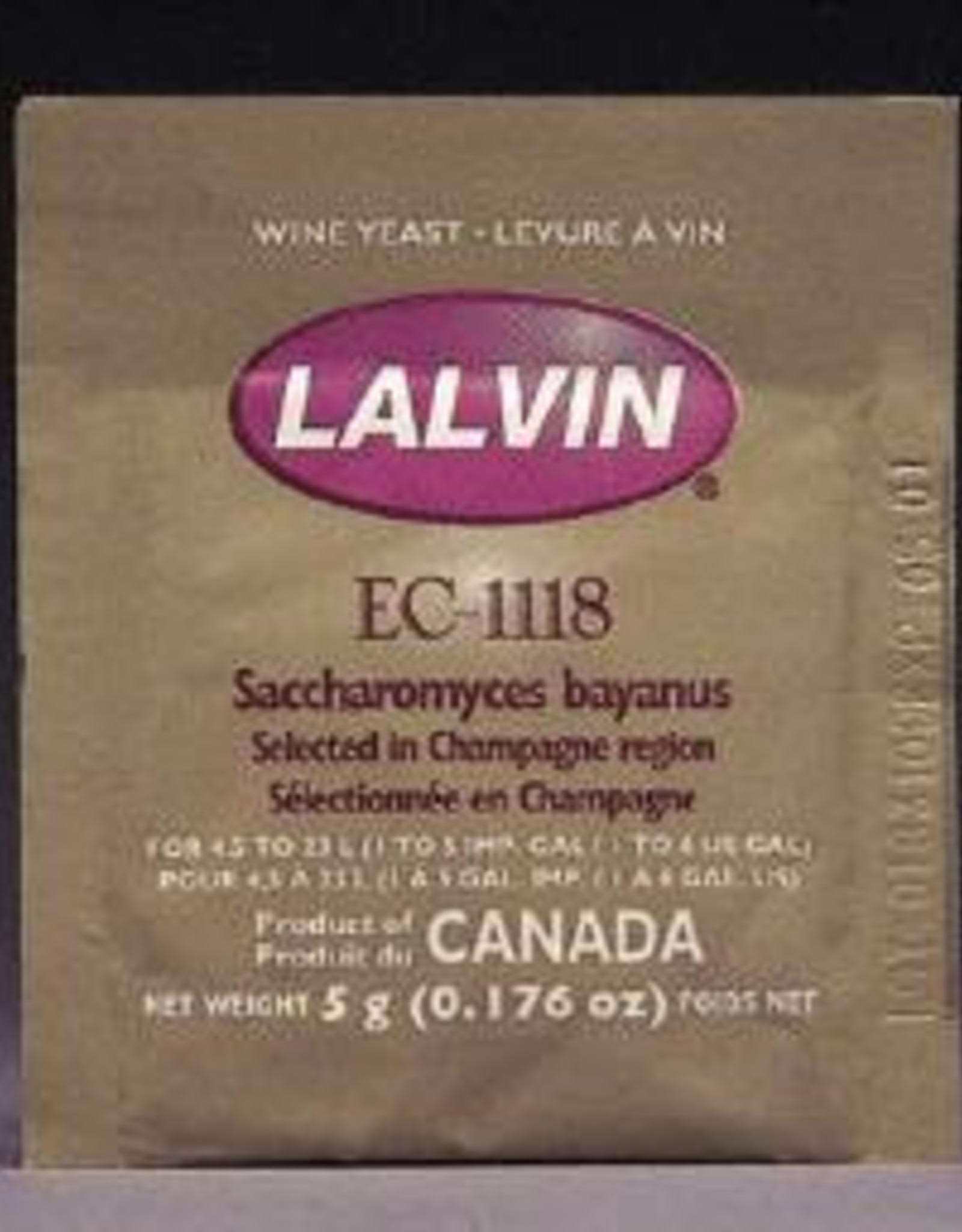 EC-1118 LALVIN ACTIVE FREEZE- DRIED WINE YEAST