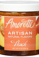 AMORETTI PEACH ARTISAN FRUIT PUREE 8 OZ