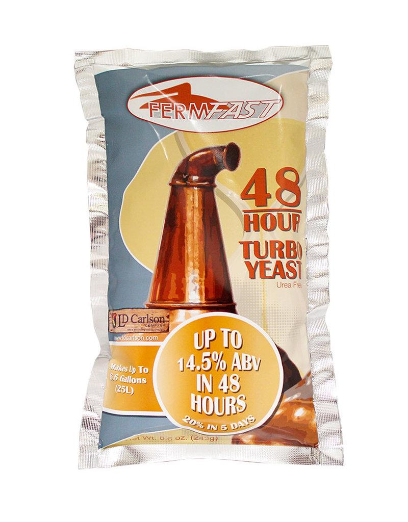 FERMFAST FERMFAST 48 HOUR TURBO YEAST 243 GRAM (UREA FREE)