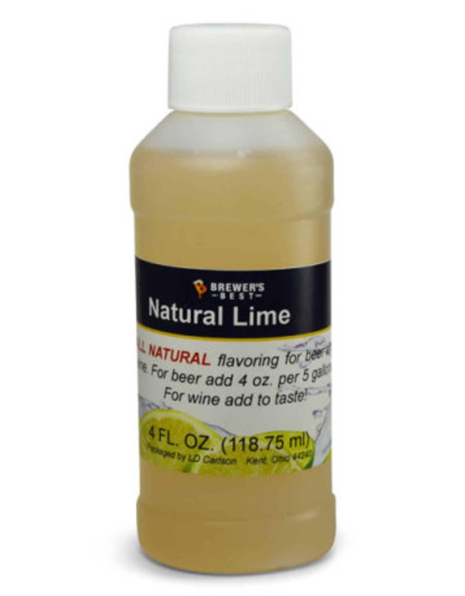 NATURAL LIME FLAVORING EXTRACT 4 OZ