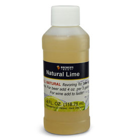 BREWERS BEST NATURAL LIME FLAVORING EXTRACT 4 OZ