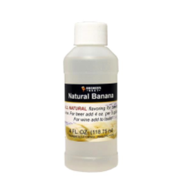 BREWERS BEST NATURAL BANANA FLAVORING EXTRACT 4 OZ