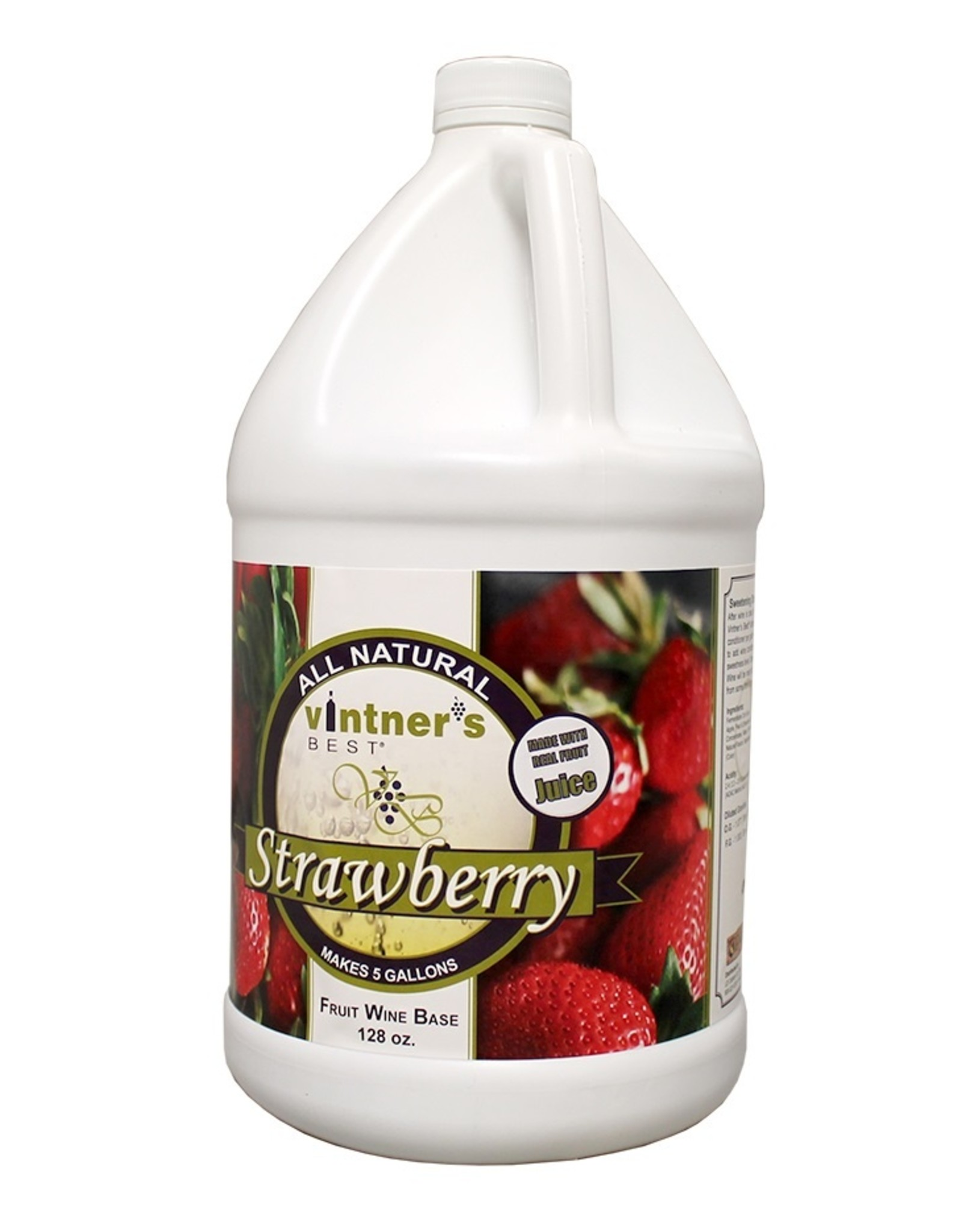 STRAWBERRY WINE BASE 128 oz (1GAL)