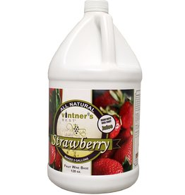VINTNER'S BEST STRAWBERRY WINE BASE 128 oz (1GAL)